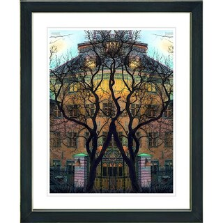 Studio Works Modern 'Townhouse' Framed Print