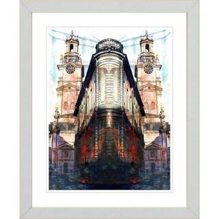 Studio Works Modern 'Flatiron Building' Framed Print