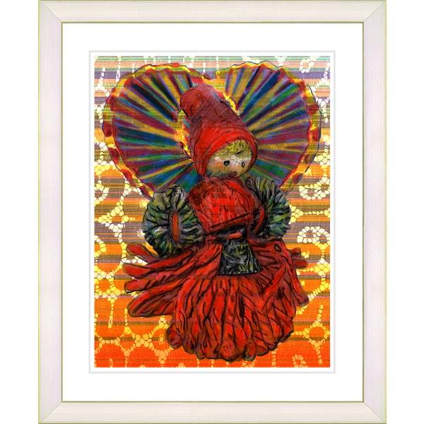 Studio Works Modern 'Yarn Mother' Framed Art Print