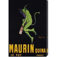 Global Gallery Leonetto Cappiello 'Maurin Quina, ca. 1906' Stretched Canvas Art - Multi