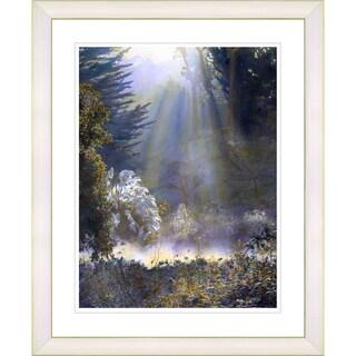 Studio Works Modern 'Morning Light' Framed Art Print