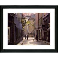 Studio Works Modern 'Old Town' Framed Art Print