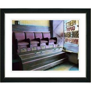Studio Works Modern 'Shoeshine' Framed Art Print