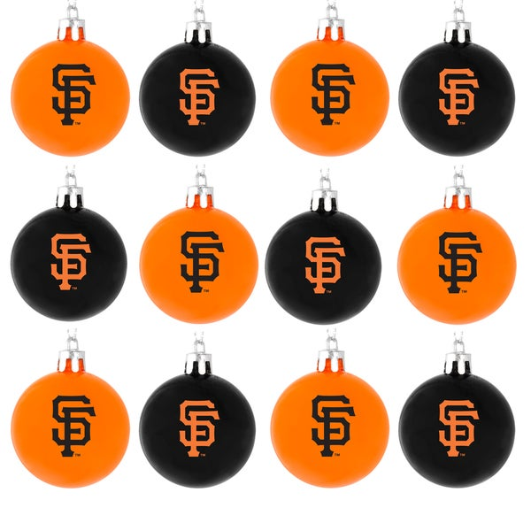 Forever Collectibles MLB 12-piece Plastic Ball Ornament Set