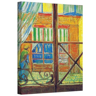 VanGogh 'Pork-Butchers Shop Through The Window' Wrapped Canvas Art