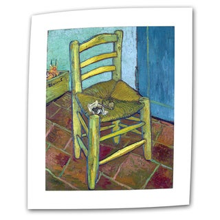 VanGogh 'Vincent's Chair' Flat Canvas Art - Multi