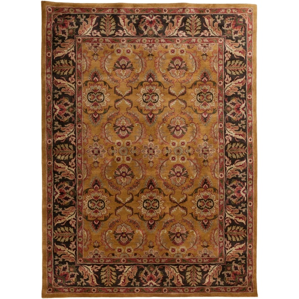 Hand-tufted 'Moxee' Parchment Wool Rug