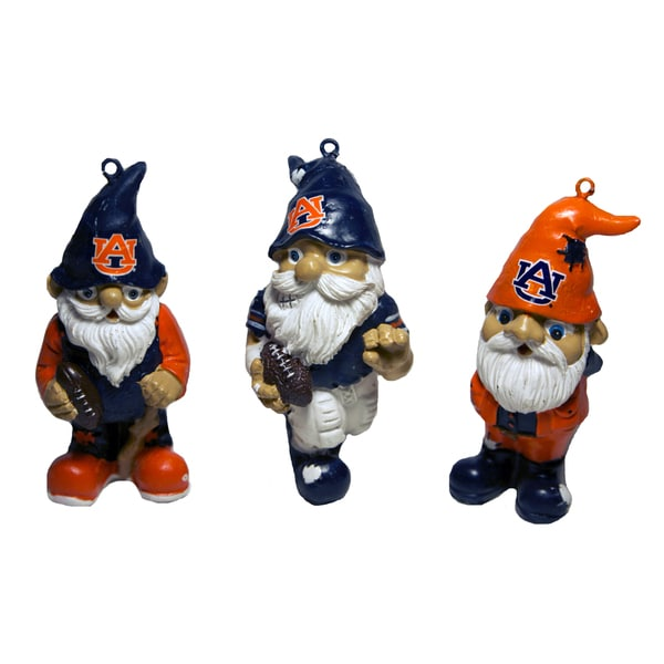 NCAA Resin Gnome Ornament Set (Pack of 3)