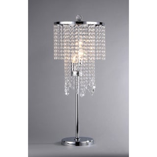 Shop Crystal Table Lamp Free Shipping Today Overstock Com 7550256