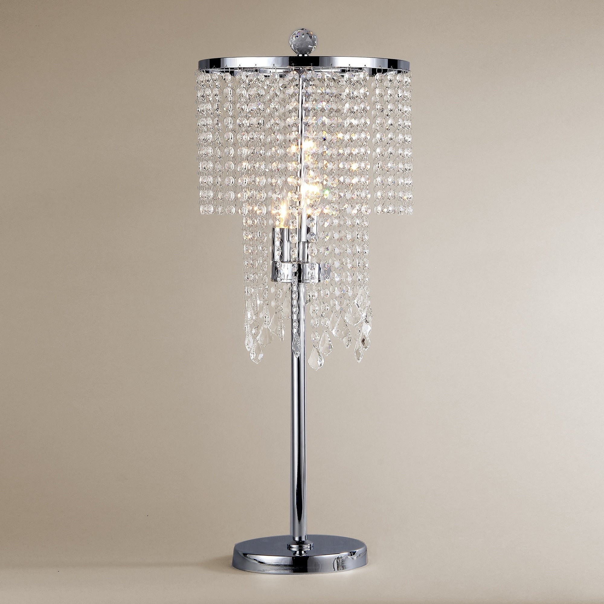 Shop Crystal Table Lamp   On Sale   Free Shipping Today   Overstock    7550256