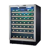 Danby Designer Series Built-in Wine Cooler with 50-Bottle Capacity