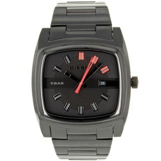 Diesel Men's DZ1557 'Analog' Black Stainless Steel Watch