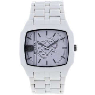 White Diesel Men's 'Analog' Stainless-Steel Water-Resistant Watch with Gray Hands