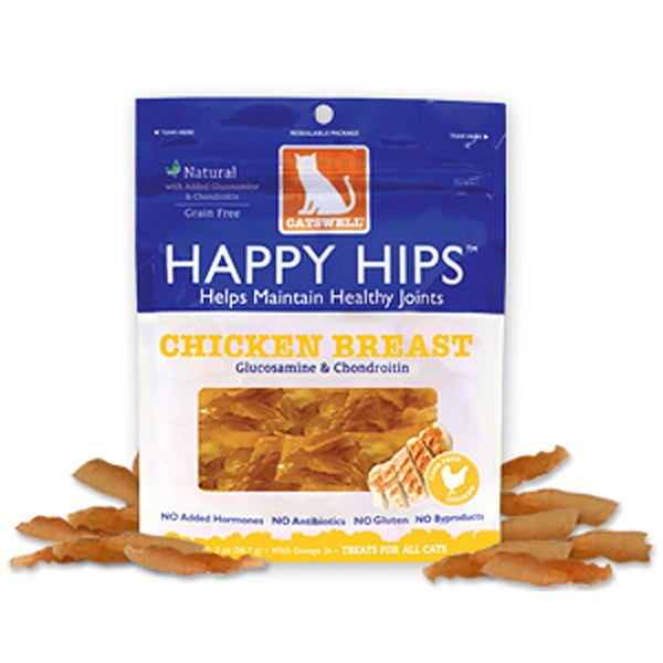 Catswell Happy Hips 2-ounce Chicken Jerky