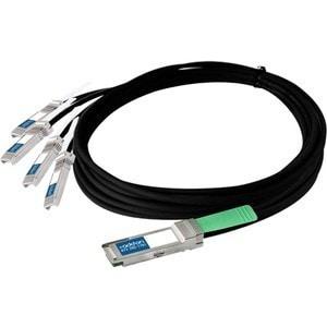 AddOn Cisco QSFP-4SFP10G-CU3M Compatible TAA Compliant 40GBase-CU QSF