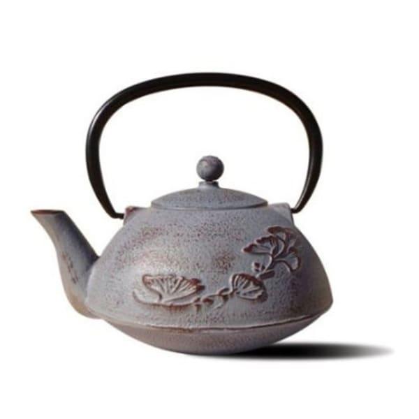 Old Dutch Dusty Plum Cast Iron 'Nikko' 33-ounce Teapot