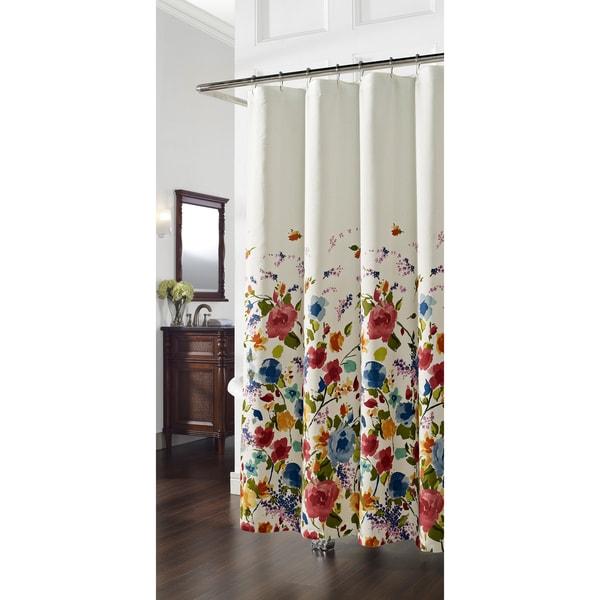Panache Floral Shower Curtain
