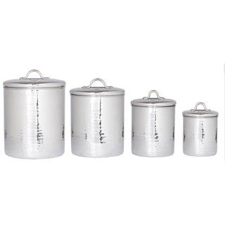 Old Dutch Stainless Steel Hammered Canisters (Set 4) https://ak1.ostkcdn.com/images/products/7550742/7550742/Old-Dutch-Stainless-Steel-Hammered-Canisters-Set-4-P14983512.jpeg?impolicy=medium