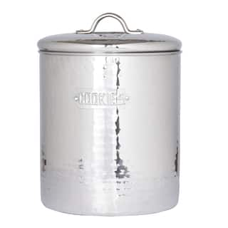 Old Dutch Hammered Stainless Steel Cookie Jar|https://ak1.ostkcdn.com/images/products/7550743/7550743/Old-Dutch-Hammered-Stainless-Steel-Cookie-Jar-P14983513.jpeg?impolicy=medium