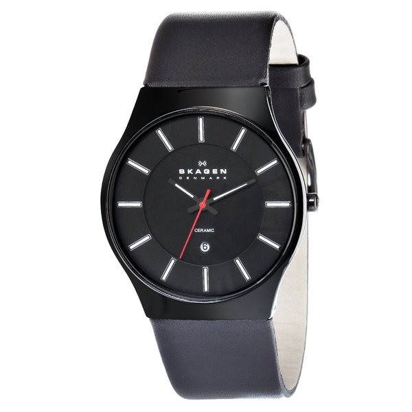 Skagen Men's Ceramic Date Watch