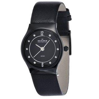 Skagen Women's Ceramic Crystal Watch