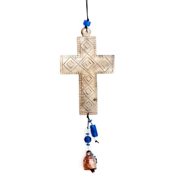 A Little Faith Cross Wind Chime (India)