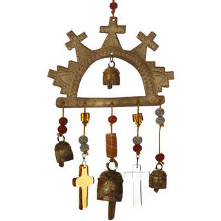 Mission of Faith Wind Chime  , Handmade in India