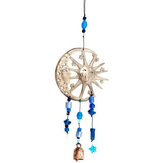 One Sun/One Moon Wind Chime (India)