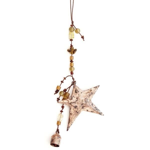 Handmade Kutch Star Wind Chime (India)