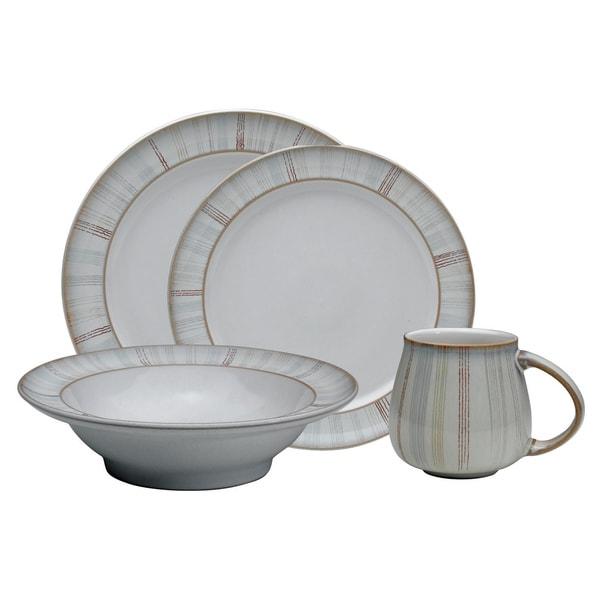 Denby Mist Falls 16-piece Dinnerware Set