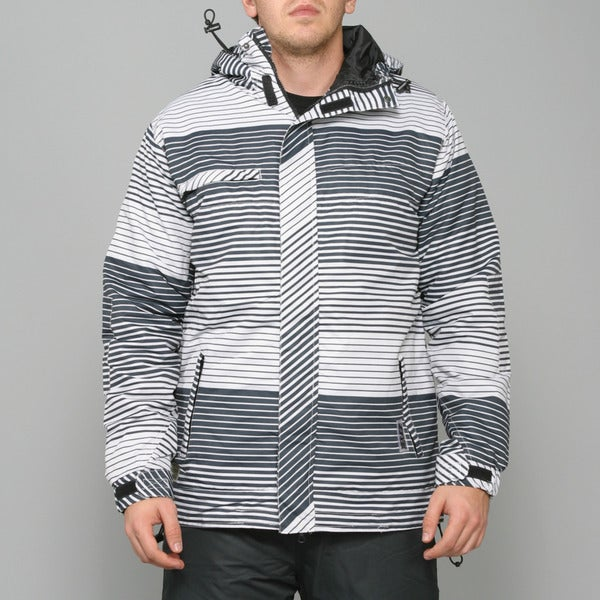 Zonal Men's 'Linner' White Snowboard Jacket