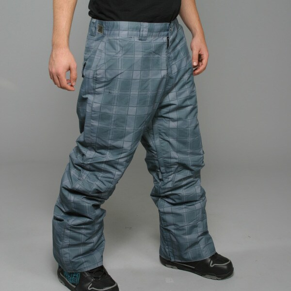 Zonal Men's 'Lumber' Pewter Snowboard Pants