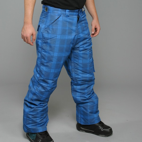 Zonal Men's 'Lumber' Skydiver Blue Snowboard Pants