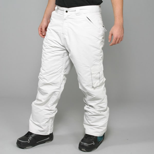 Zonal Men's 'Redhill' Light Silver Snowboard Pants