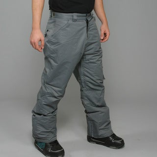 Zonal Men's 'Redhill' Pewter Snowboard Pants
