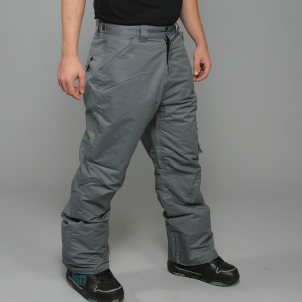 Zonal Men's 'Redhill' Pewter Snowboard Pants