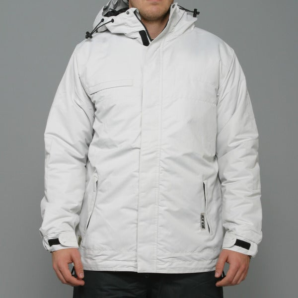 Zonal Men's 'Scanner' Light Silver Snowboard Jacket
