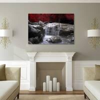 Oliver & James Red Canvas Art