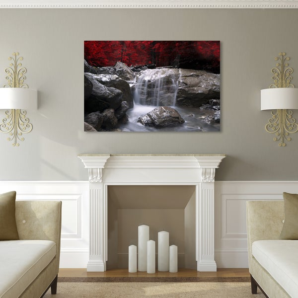 Philippe Sainte-Laudy 'Red Vison' Canvas Art