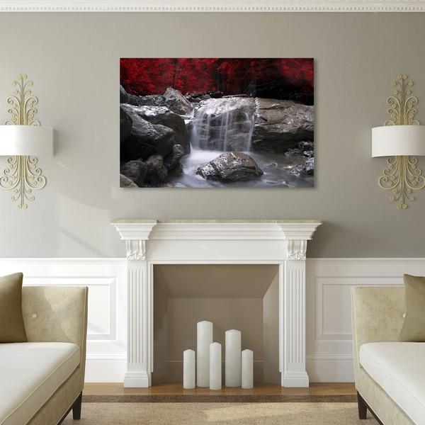 Porch & Den Red Canvas Art
