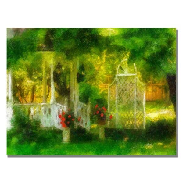Lois Bryan 'Secret Garden' Canvas Art.