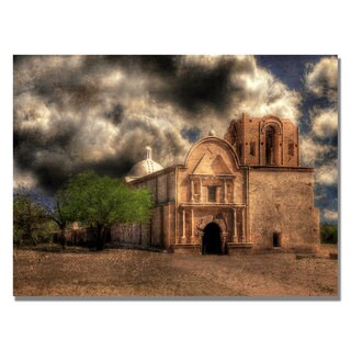 Lois Bryan 'Cathedral' Canvas Art