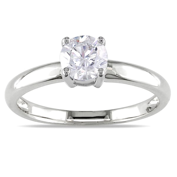 Miadora Signature Collection 14k Gold 3/4ct TDW Certified Diamond Solitaire Engagement Ring