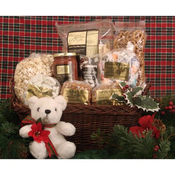 Mountain Winter Gift Basket