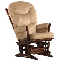Dutailier Coffee/ Light Brown Colonial Glider