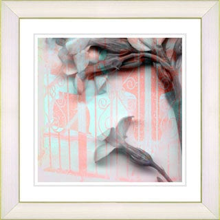 Studio Works Modern 'Morning Bloom Flowers' Framed Giclee Print