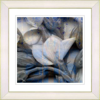 Studio Works Modern 'Garden District Blues' Framed Giclee Print