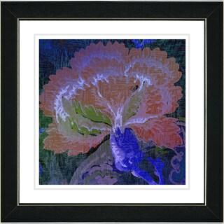 Studio Works Modern 'Maria's Treasure - Blue' Framed Fine Art Giclee Print