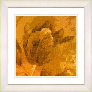 Studio Works Modern 'Terra Cotta Tulip' Framed Giclee Print