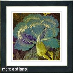 Studio Works Modern 'Maria's Treasure - Green' Framed Fine Art Giclee Print